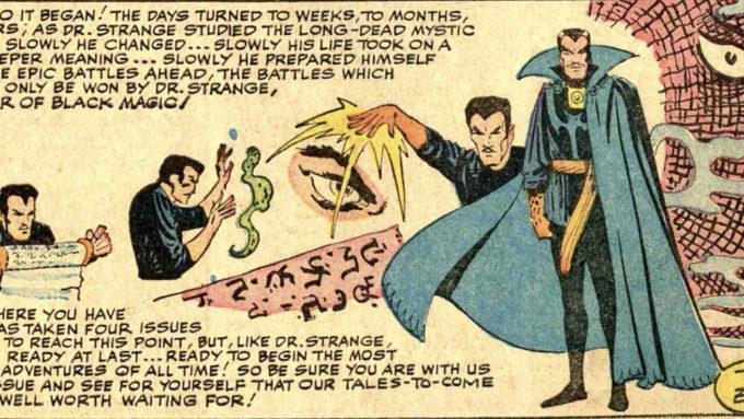 STRANGE TALES #115 (1963): The Origin of Dr. Strange