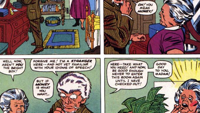 X-MEN #11 (1965): 1st Stranger