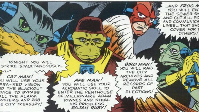DAREDEVIL #10-11 (1965): 1st Ani-Men