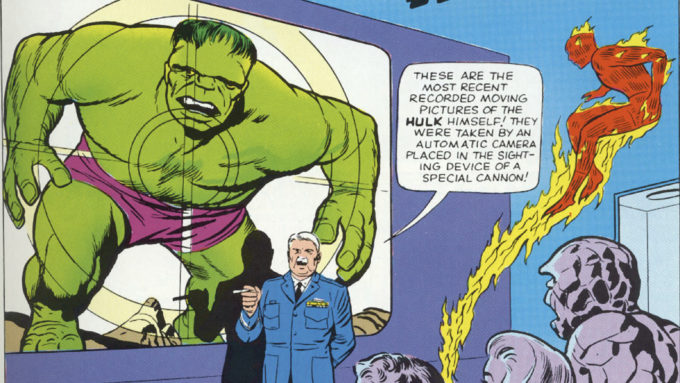 THE FANTASTIC FOUR #12 (1963): 1st Thing/Hulk Fight