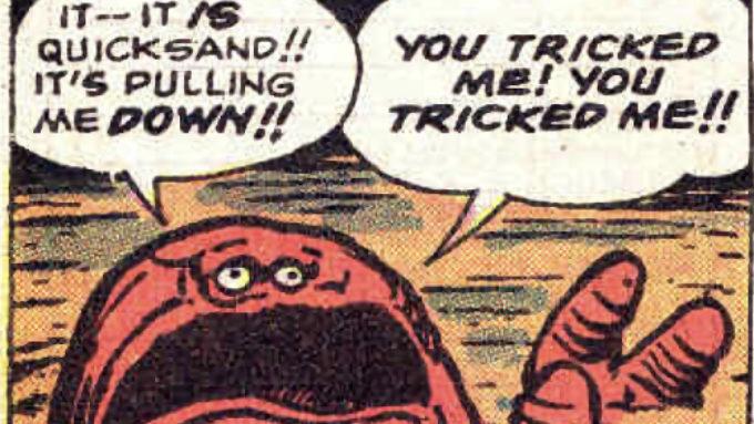 TALES OF SUSPENSE #15 and 17 (1961): 1st Goom, GooGam, Kraa and Vandoom.