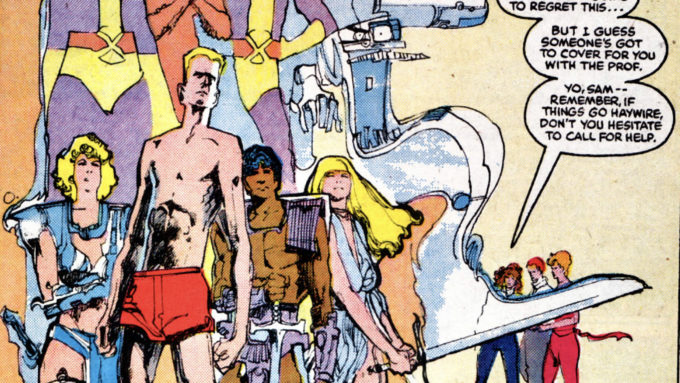 New Mutants #29-31 (1985): 1st Strong Guy; Secret Wars II